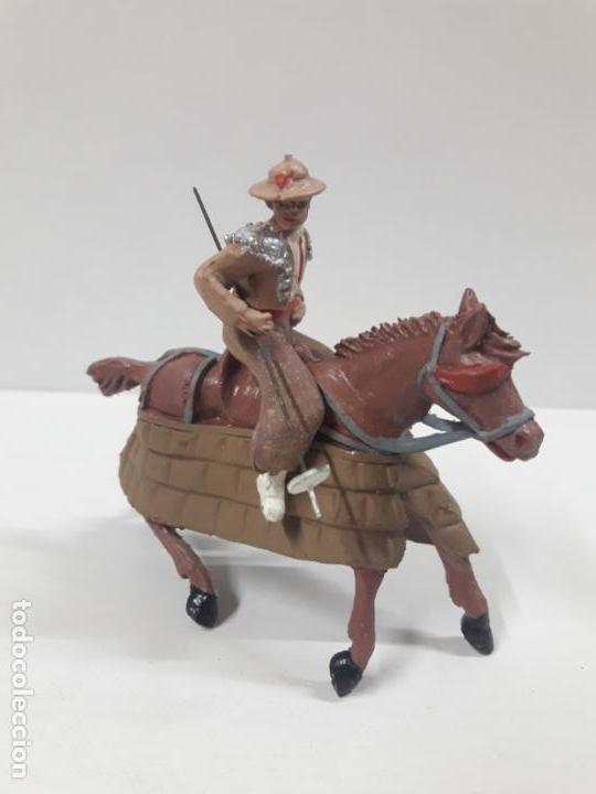 Figuras de Goma y PVC: CAJA ORIGINAL DE LA CORRIDA DE TOROS . REALIZADA POR PECH . AÑOS 60 - Foto 9 - 135518578