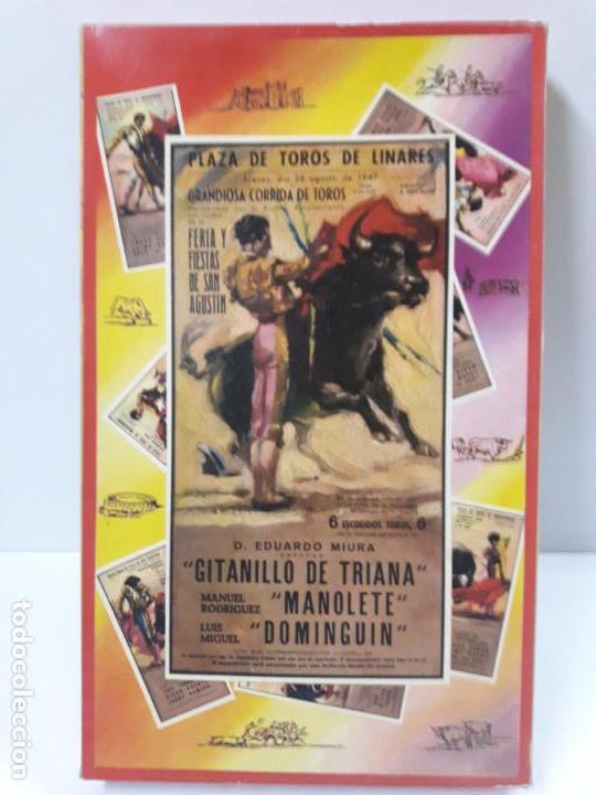 Figuras de Goma y PVC: CAJA ORIGINAL DE LA CORRIDA DE TOROS . REALIZADA POR PECH . AÑOS 60 - Foto 11 - 135518578