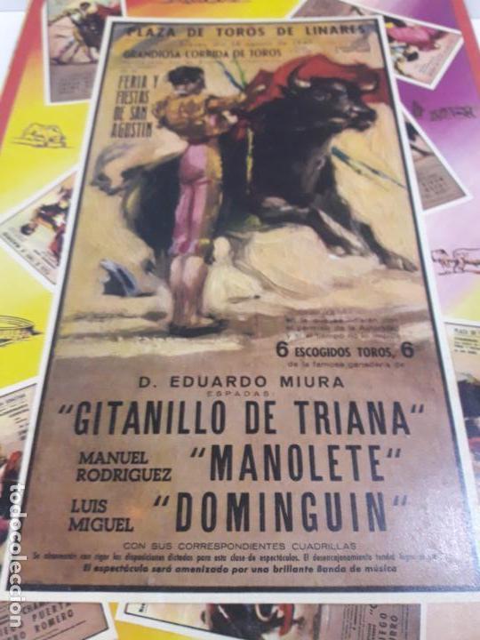 Figuras de Goma y PVC: CAJA ORIGINAL DE LA CORRIDA DE TOROS . REALIZADA POR PECH . AÑOS 60 - Foto 12 - 135518578