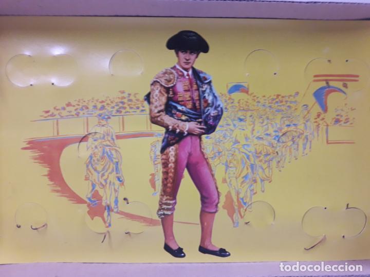 Figuras de Goma y PVC: CAJA ORIGINAL DE LA CORRIDA DE TOROS . REALIZADA POR PECH . AÑOS 60 - Foto 14 - 135518578