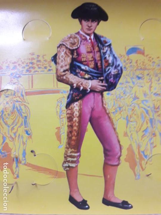 Figuras de Goma y PVC: CAJA ORIGINAL DE LA CORRIDA DE TOROS . REALIZADA POR PECH . AÑOS 60 - Foto 15 - 135518578