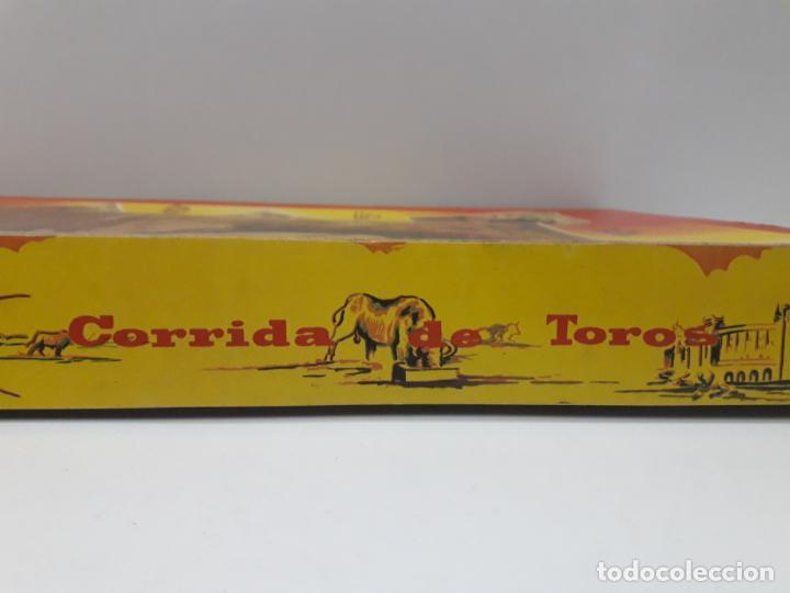 Figuras de Goma y PVC: CAJA ORIGINAL DE LA CORRIDA DE TOROS . REALIZADA POR PECH . AÑOS 60 - Foto 18 - 135518578
