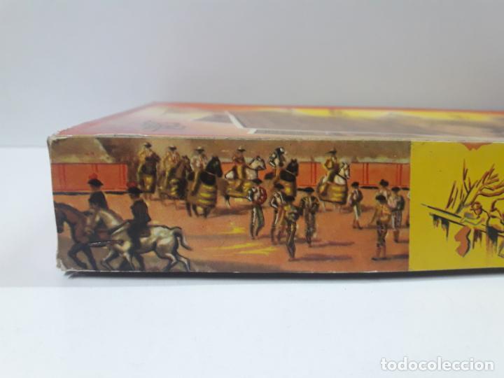 Figuras de Goma y PVC: CAJA ORIGINAL DE LA CORRIDA DE TOROS . REALIZADA POR PECH . AÑOS 60 - Foto 19 - 135518578