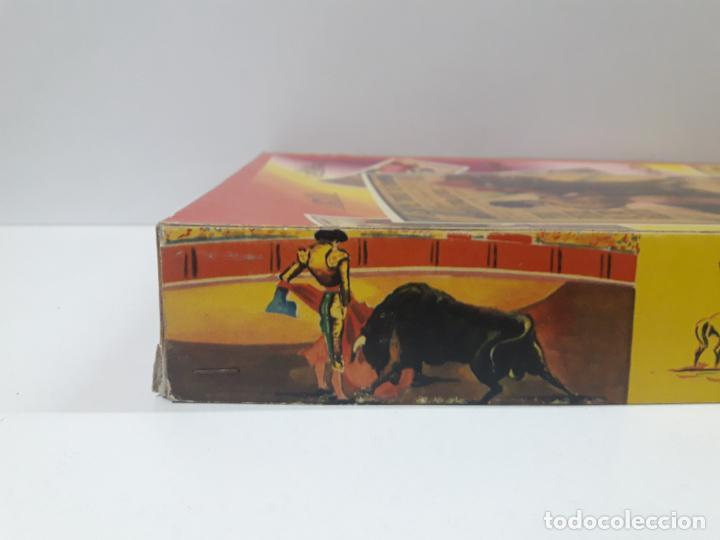 Figuras de Goma y PVC: CAJA ORIGINAL DE LA CORRIDA DE TOROS . REALIZADA POR PECH . AÑOS 60 - Foto 24 - 135518578
