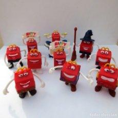 Figuras de Goma y PVC: 10 MUÑECOS HAPPY MEAL DE MCDONALS.. Lote 82115008