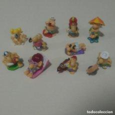 Figuras Kinder: LEER* FIGURA PLAYA PLAYEROS MINIATURA KINDER MONOBLOC FERRERO HUEVO SORPRESA MUÑECO. Lote 135542718