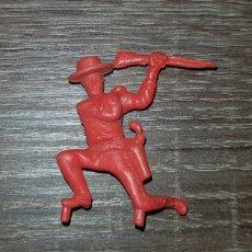 Figuras de Goma y PVC: FIGURA SOLDADO DUNKIN AÑOS 70/80 KIOSKO PLÁSTICO DURO. Lote 135548083