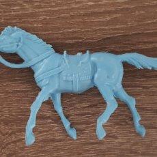 Figuras de Goma y PVC: ANTIGUA FIGURA CABALLO INDIO OESTE AMERICANO KIOSKO AÑOS 70/80. Lote 135550129