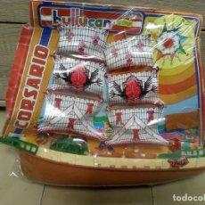 Figuras de Goma y PVC: BARCO CORSARIO JUGUETES BULLYCAN KIOSCO AÑOS 80. Lote 135566810