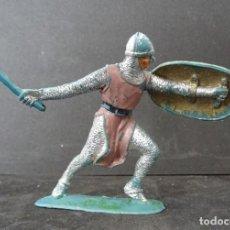 Figuras de Goma y PVC: JECSAN MEDIEVAL CRUZADO. Lote 135609642