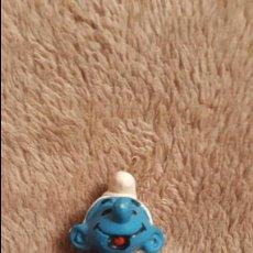 Figuras de Goma y PVC: FIGURA PVC PITUFO. Lote 135625826