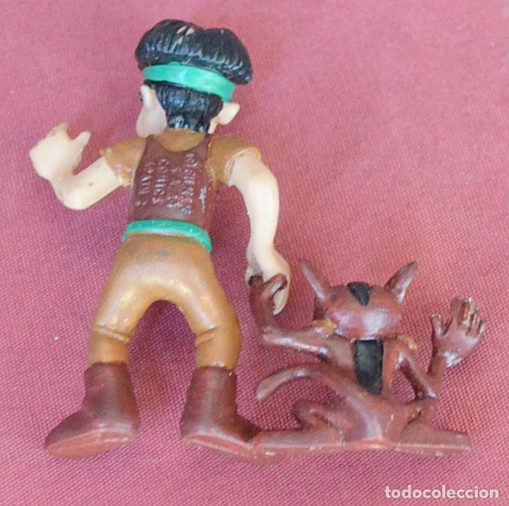 Figuras de Goma y PVC: LA CORONA MAGICA - HANSTOR - SHAIS - FILMAN - COMICS SPAIN - 1989 - NUEVA SIN USO - Foto 2 - 135823374