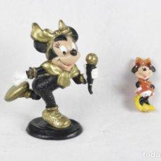 Figuras de Goma y PVC: MINNIE, DOS FIGURAS. Lote 135879938
