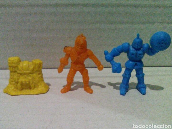 LOTE DUNKIN MASTERS DEL UNIVERSO Y ROBOT (Juguetes - Figuras de Goma y Pvc - Dunkin)
