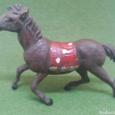 Figuras de Goma y PVC: ANTIGUA FIGURA EN GOMA DE CABALLO INDIO FABRICADO POR GAMA. SERIE 60 MM. Lote 136109622