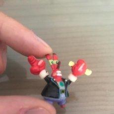 Figuras de Goma y PVC: FIGURA GOMA PVC CANGREJO BOB ESPONJA VIACOM. Lote 136110026