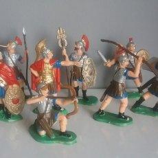 Figuras de Goma y PVC: BEN-HUR. LEGIONES ROMANAS REAMSA, HISTÓRICOS GOMARSA AÑOS '80 SERIE COMPLETA, LEGIONARIOS A PIE.. Lote 136141030