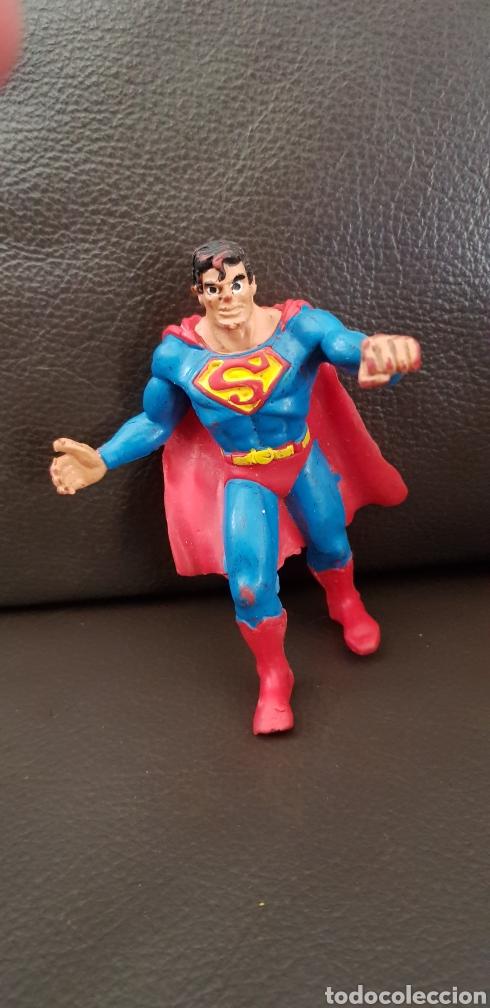 FIGURA PVC COMICS SPAIN SUPERMAN 1986 (Juguetes - Figuras de Goma y Pvc - Comics Spain)