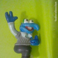 Figuras de Goma y PVC: GONZO GOMA FIGURA LAPICERO MUPPETS SESAMO BARRIO. Lote 136457278