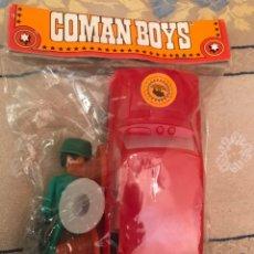 Figuras de Goma y PVC: COMANBOYS. Lote 136609322