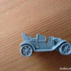 Figuras de Goma y PVC: CONGUITOS : ANTIGUO COCHE EN MINIATURA DE PLASTICO MODELO PEUGEOT 1906 AÑOS 70 PREMIUN GRIS. Lote 136623202