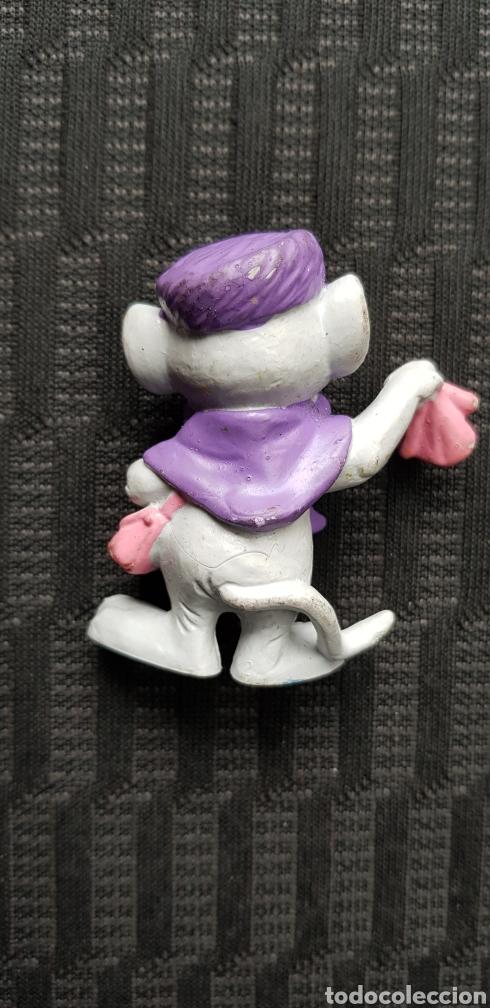 Figuras de Goma y PVC: Figura pvc Rescatadores Bully de colección goma Disney made in germany Bernard y Bianca - Foto 2 - 136710153