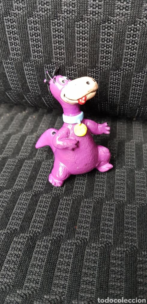 FIGURA PVC DINO LOS PICAPIEDRAS BULLYLAND 1994 (Juguetes - Figuras de Goma y Pvc - Bully)