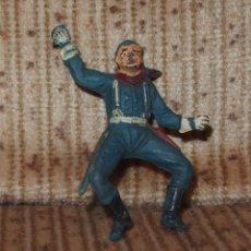 Figuras de Goma y PVC: SOLDADO SERIE YANKEES,PECH,GOMA,AÑOS 50. Lote 136736850