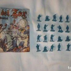 Figuras de Goma y PVC: RUSIA DEL ZAR GRUPO DE COMBATE N 164 - MONTA PLEX. Lote 136793062