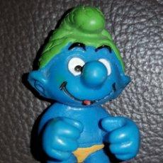 Figuras de Goma y PVC: FIGURA PITUFO SCHLEICH 2000 PEYO. Lote 136816616