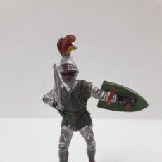 Figuras de Goma y PVC: GUERRERO MEDIEVAL . FIGURA REAMSA Nº 118 . SERIE TORNEO REAL . AÑOS 50 EN GOMA. Lote 137121594
