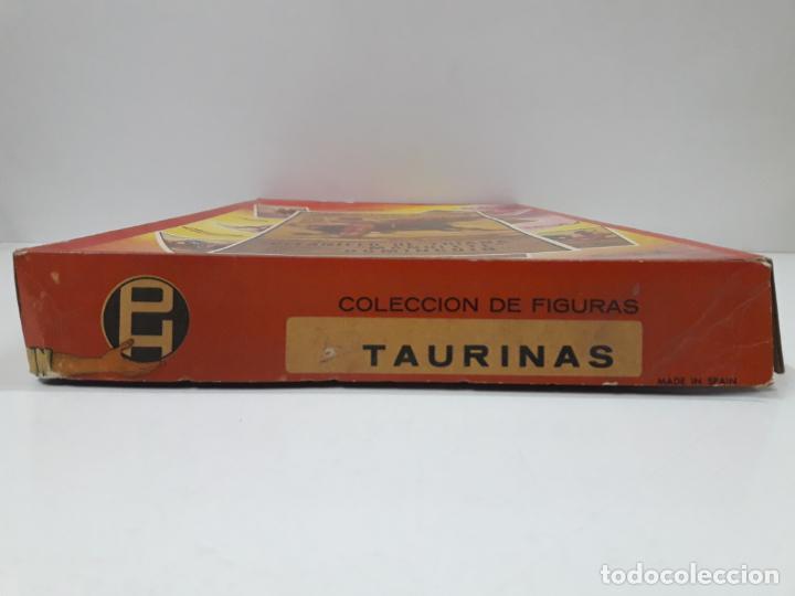 Figuras de Goma y PVC: CAJA ORIGINAL DE LA CORRIDA DE TOROS - COLECCION DE FIGURAS TAURINAS . REALIZADA POR PECH . AÑOS 60 - Foto 4 - 137130886