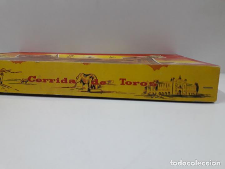 Figuras de Goma y PVC: CAJA ORIGINAL DE LA CORRIDA DE TOROS - COLECCION DE FIGURAS TAURINAS . REALIZADA POR PECH . AÑOS 60 - Foto 8 - 137130886