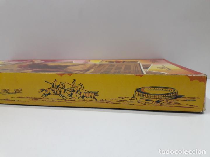 Figuras de Goma y PVC: CAJA ORIGINAL DE LA CORRIDA DE TOROS - COLECCION DE FIGURAS TAURINAS . REALIZADA POR PECH . AÑOS 60 - Foto 12 - 137130886