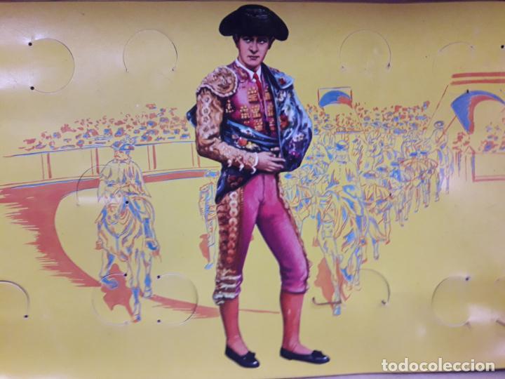 Figuras de Goma y PVC: CAJA ORIGINAL DE LA CORRIDA DE TOROS - COLECCION DE FIGURAS TAURINAS . REALIZADA POR PECH . AÑOS 60 - Foto 19 - 137130886