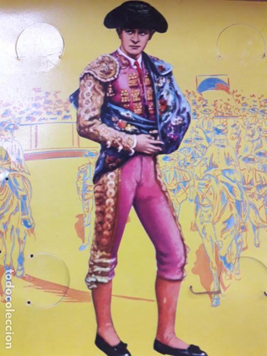 Figuras de Goma y PVC: CAJA ORIGINAL DE LA CORRIDA DE TOROS - COLECCION DE FIGURAS TAURINAS . REALIZADA POR PECH . AÑOS 60 - Foto 20 - 137130886