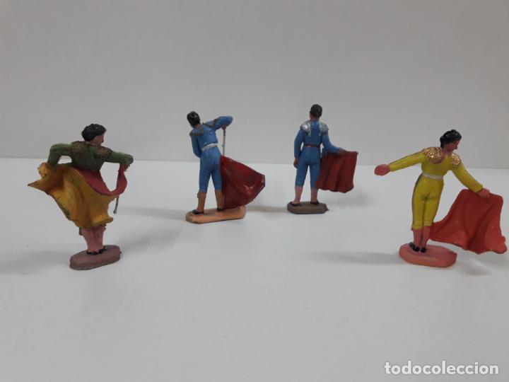 Figuras de Goma y PVC: CAJA ORIGINAL DE LA CORRIDA DE TOROS - COLECCION DE FIGURAS TAURINAS . REALIZADA POR PECH . AÑOS 60 - Foto 23 - 137130886