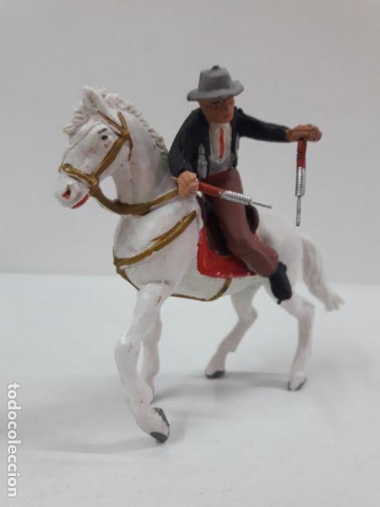 Figuras de Goma y PVC: CAJA ORIGINAL DE LA CORRIDA DE TOROS - COLECCION DE FIGURAS TAURINAS . REALIZADA POR PECH . AÑOS 60 - Foto 26 - 137130886