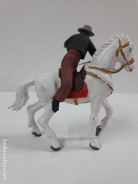 Figuras de Goma y PVC: CAJA ORIGINAL DE LA CORRIDA DE TOROS - COLECCION DE FIGURAS TAURINAS . REALIZADA POR PECH . AÑOS 60 - Foto 27 - 137130886