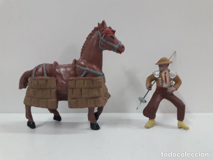 Figuras de Goma y PVC: CAJA ORIGINAL DE LA CORRIDA DE TOROS - COLECCION DE FIGURAS TAURINAS . REALIZADA POR PECH . AÑOS 60 - Foto 28 - 137130886