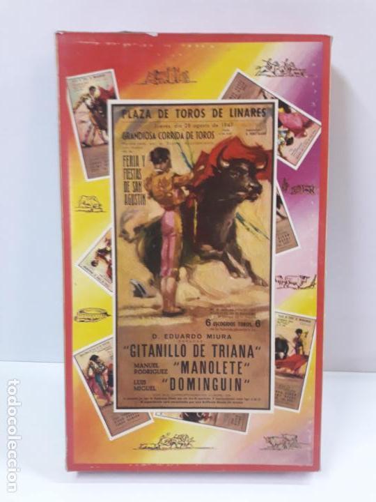 Figuras de Goma y PVC: CAJA ORIGINAL DE LA CORRIDA DE TOROS - COLECCION DE FIGURAS TAURINAS . REALIZADA POR PECH . AÑOS 60 - Foto 29 - 137130886