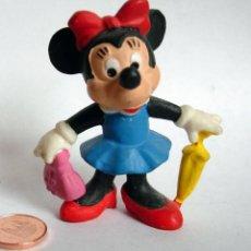 Figuras de Goma y PVC: FIGURA DE GOMA - MINNIE MOUSE - BULLYLAND . Lote 137157438