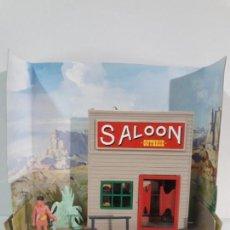 Figuras de Goma y PVC: SALOON . JECSARAMAS DEL OESTE - REF 207 . REALIZADA POR JECSAN . AÑOS 60 / 70. Lote 137215618