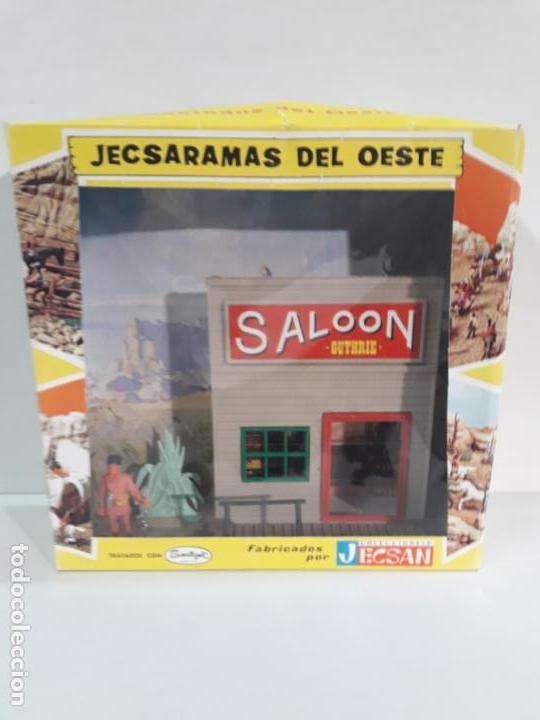 Figuras de Goma y PVC: SALOON . JECSARAMAS DEL OESTE - REF 207 . REALIZADA POR JECSAN . AÑOS 60 / 70 - Foto 2 - 137215618