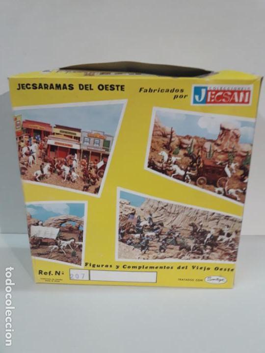 Figuras de Goma y PVC: SALOON . JECSARAMAS DEL OESTE - REF 207 . REALIZADA POR JECSAN . AÑOS 60 / 70 - Foto 3 - 137215618