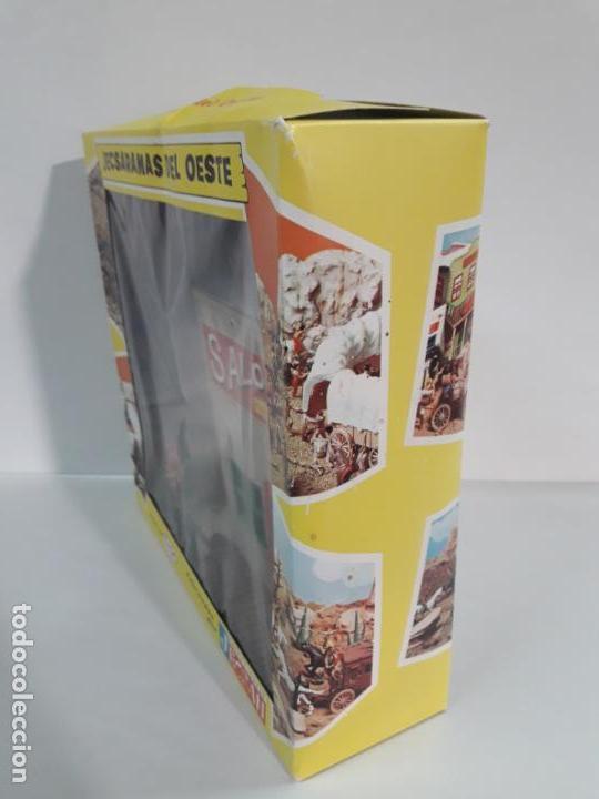 Figuras de Goma y PVC: SALOON . JECSARAMAS DEL OESTE - REF 207 . REALIZADA POR JECSAN . AÑOS 60 / 70 - Foto 4 - 137215618