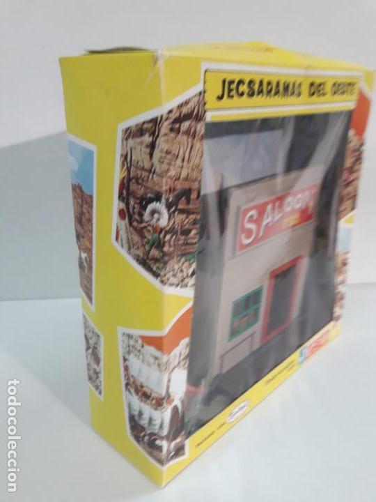 Figuras de Goma y PVC: SALOON . JECSARAMAS DEL OESTE - REF 207 . REALIZADA POR JECSAN . AÑOS 60 / 70 - Foto 5 - 137215618