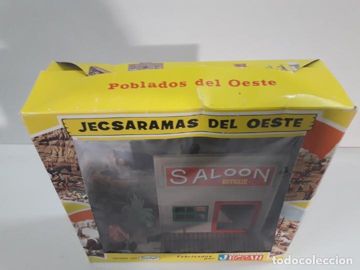 Figuras de Goma y PVC: SALOON . JECSARAMAS DEL OESTE - REF 207 . REALIZADA POR JECSAN . AÑOS 60 / 70 - Foto 6 - 137215618