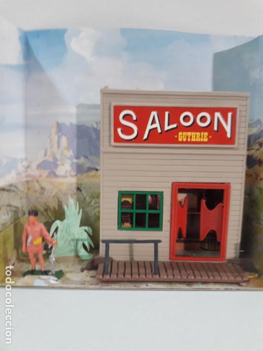 Figuras de Goma y PVC: SALOON . JECSARAMAS DEL OESTE - REF 207 . REALIZADA POR JECSAN . AÑOS 60 / 70 - Foto 8 - 137215618
