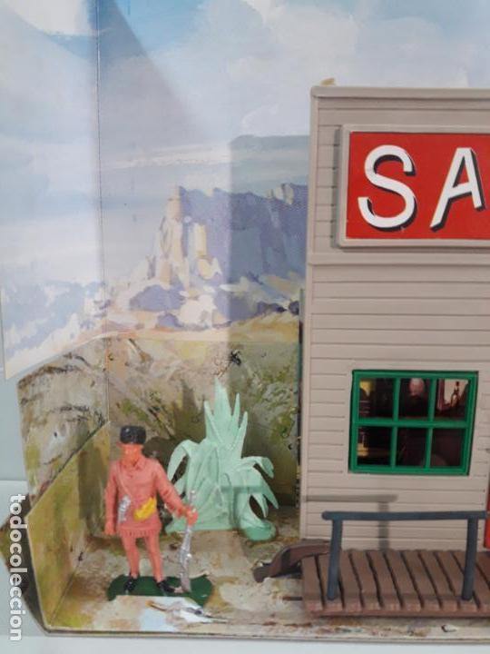 Figuras de Goma y PVC: SALOON . JECSARAMAS DEL OESTE - REF 207 . REALIZADA POR JECSAN . AÑOS 60 / 70 - Foto 9 - 137215618